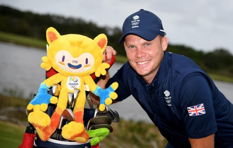 Danny Willett represents Great Britain in Olympic golf. (Getty Images)