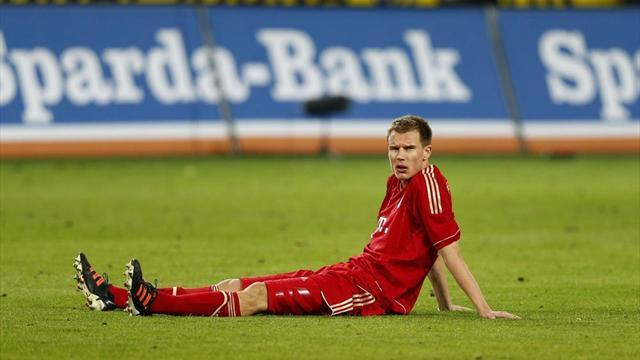 German Bundesliga  - Badstuber set to miss rest of season