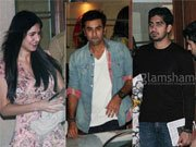Snapped! Ranbir Kapoor parties with girlfriend Katrina Kaif and sister Kareena Kapoor