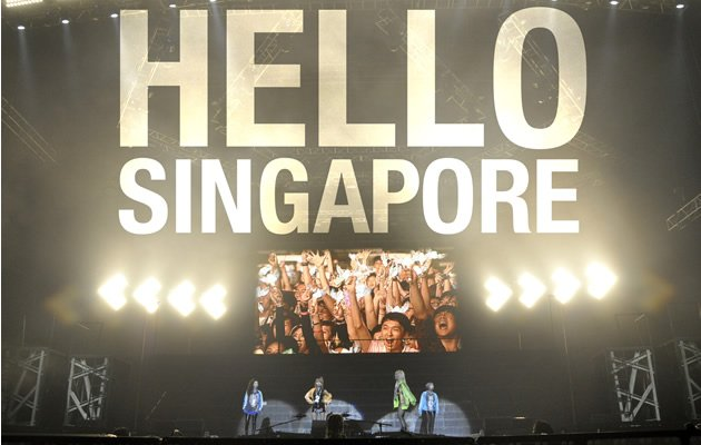 2NE1 were in Singapore for the last leg of their New Evolution Tour (Launch Entertainment)