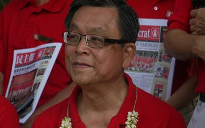 Mr Tan Jee Say says that the objective of his working paper is to produce an alternative economic plan. (Yahoo! photo)