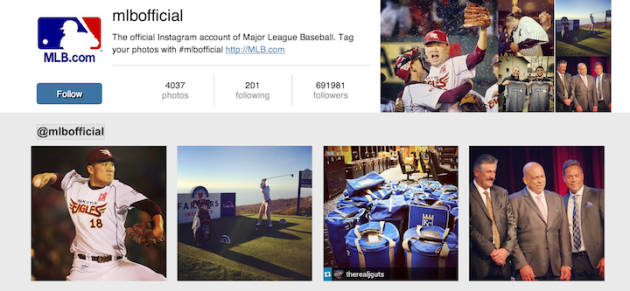 10 Ways to Organically Gain Instagram Followers image instagram widget mlb