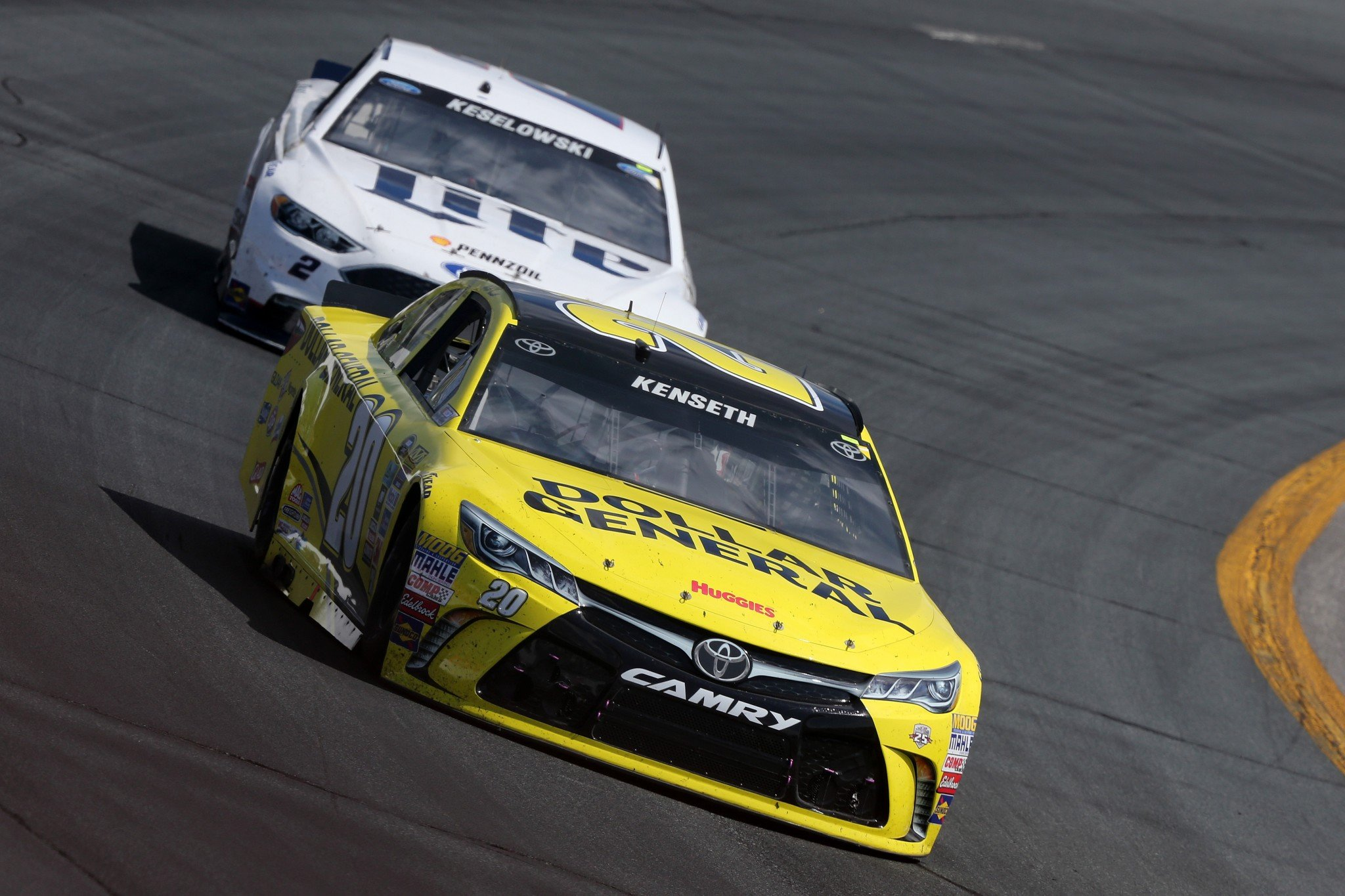 Matt Kenseth won Sunday's race at NHMS (Getty Images)