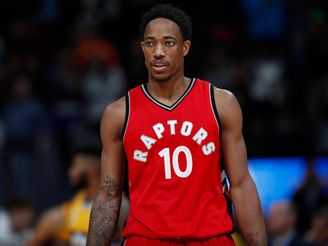 DeMar DeRozan spent the offseason honing one of the NBA's ...