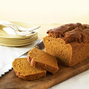 Healthy Makeover: Pumpkin Bread