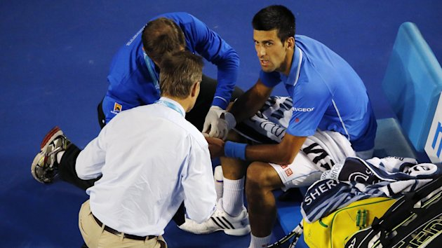 These doctors deserve big money. They cleared up Novak Djokovic's injury brilliantly (Reuters)