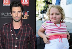 Adam Levine, Honey Boo-Boo | Photo Credits: Paul Archuleta/FilmMagic.com; Chris Fratelli/TLC