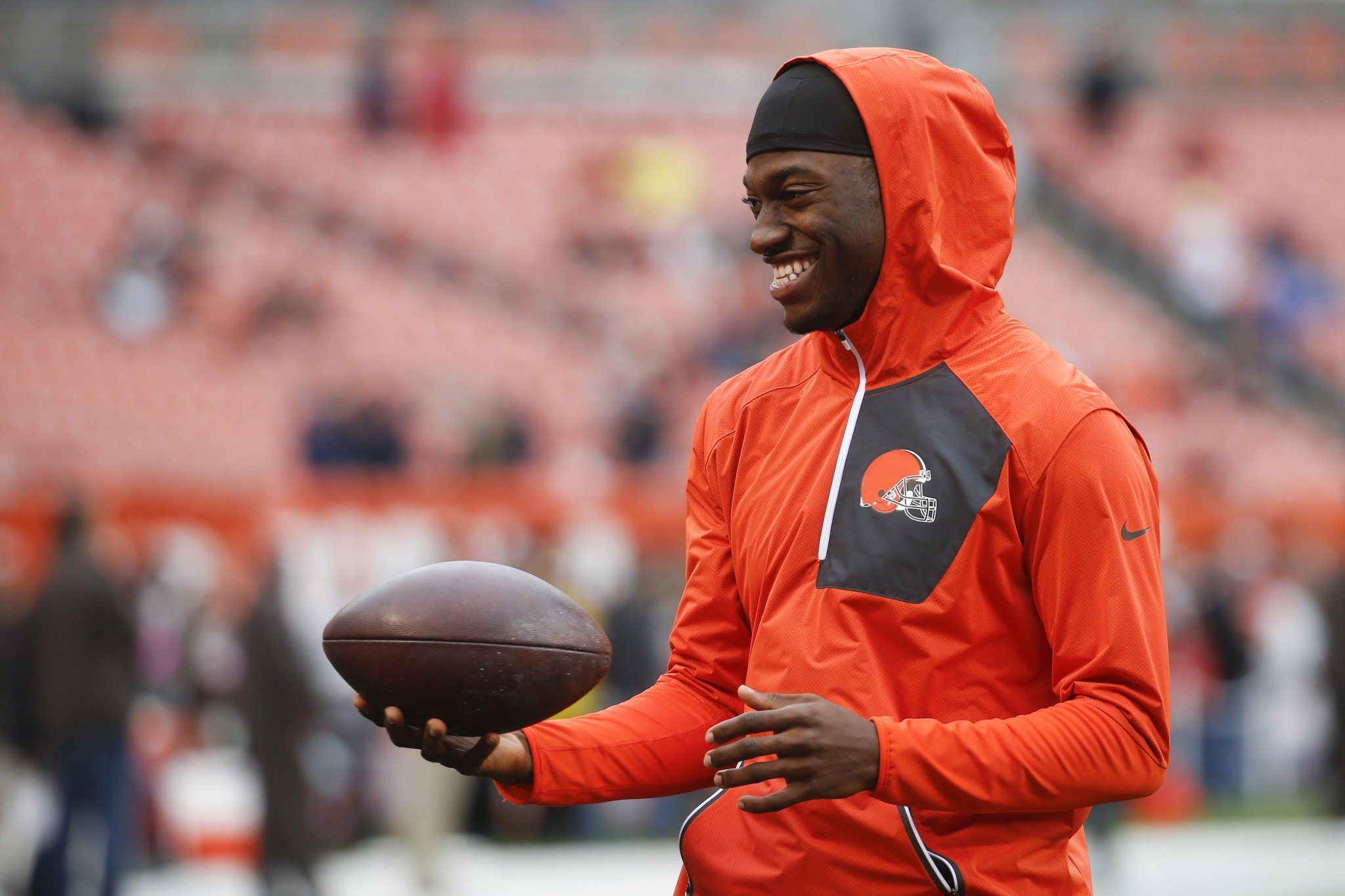 Robert Griffin III will start on Sunday vs. the Bengals. (AP)