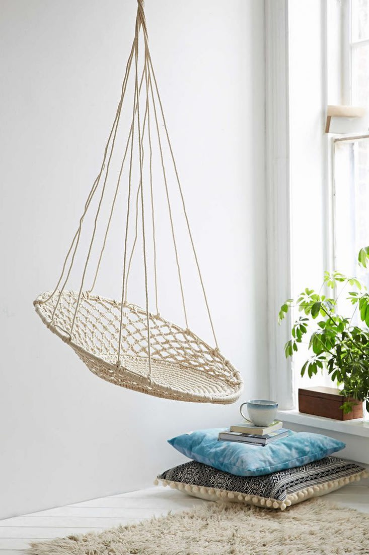 10 easy pieces hanging rattan chairs yahoo homes
