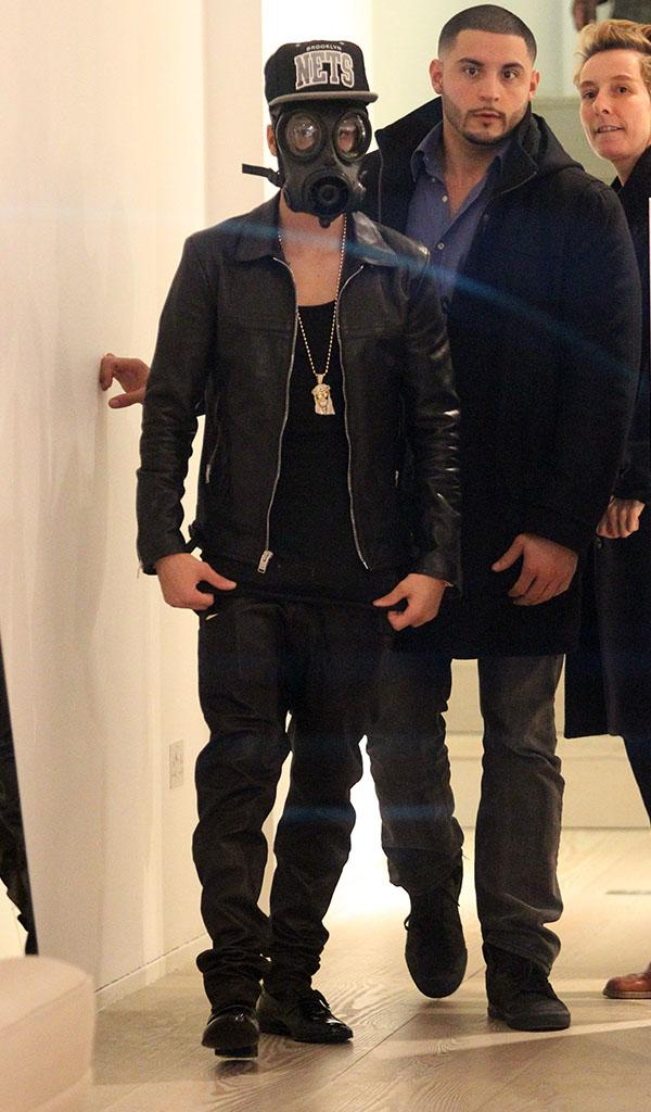 Justin Bieber Sighting In London - February 25, 2013