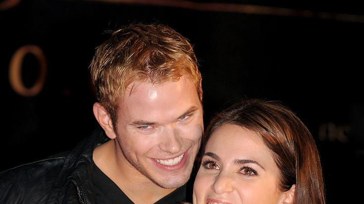 Twilight Saga New Moon Press Tour 2009 Kellan Lutz Nikki Reed