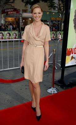 Katherine Heigl at the Westwood premiere of Universal Pictures' Knocked Up