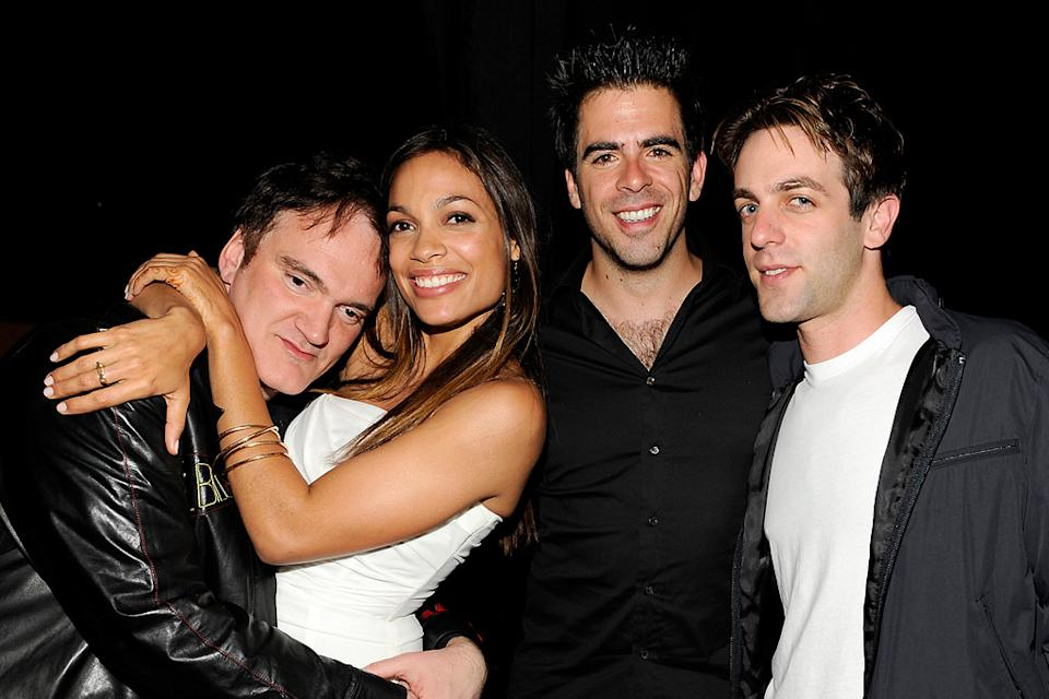 Spike TV Guys Choice Awards 2009 Quentin Tarantino Rosario Dawson Eli Roth BJ Novak