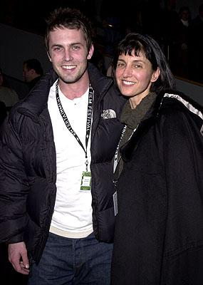 Desmond Harrington and Ruth Vitale Sundance Film Festival Opening Night Party 1/18/2001