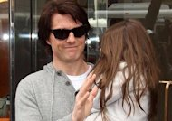 Suri passe Thanksgiving avec Tom Cruise, sans Katie Holmes