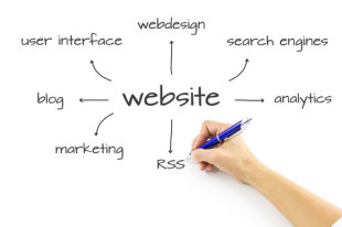 Are You Really Ready to Build a New Website or Blog? image photodune 914217 website diagram writing hand xs