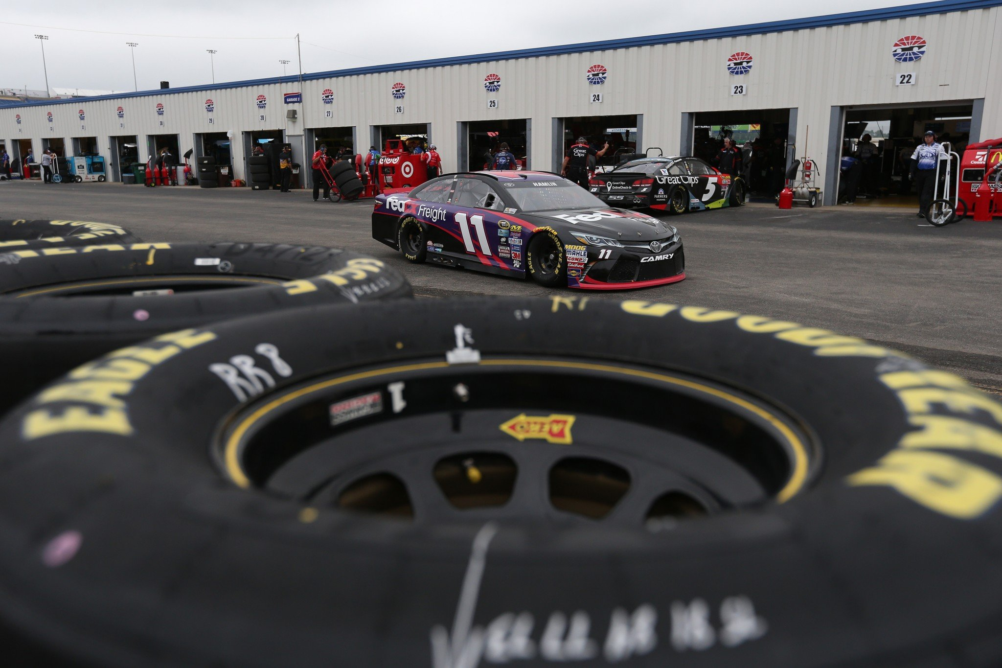 Kentucky Speedway was repaved after the 2015 race (Getty).
