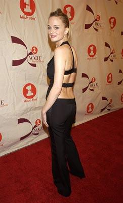 Heather Graham VH1 Vogue Fashion Awards - 10/15/2002