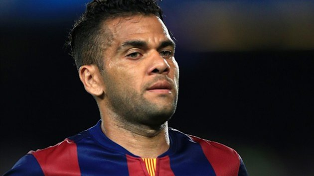 Barcelona's Dani Alves becomes a free agent this summer