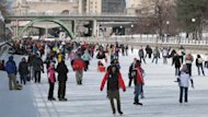 The National Capital Commission is set to open a stretch of the Rideau Canal Skateway Saturday.