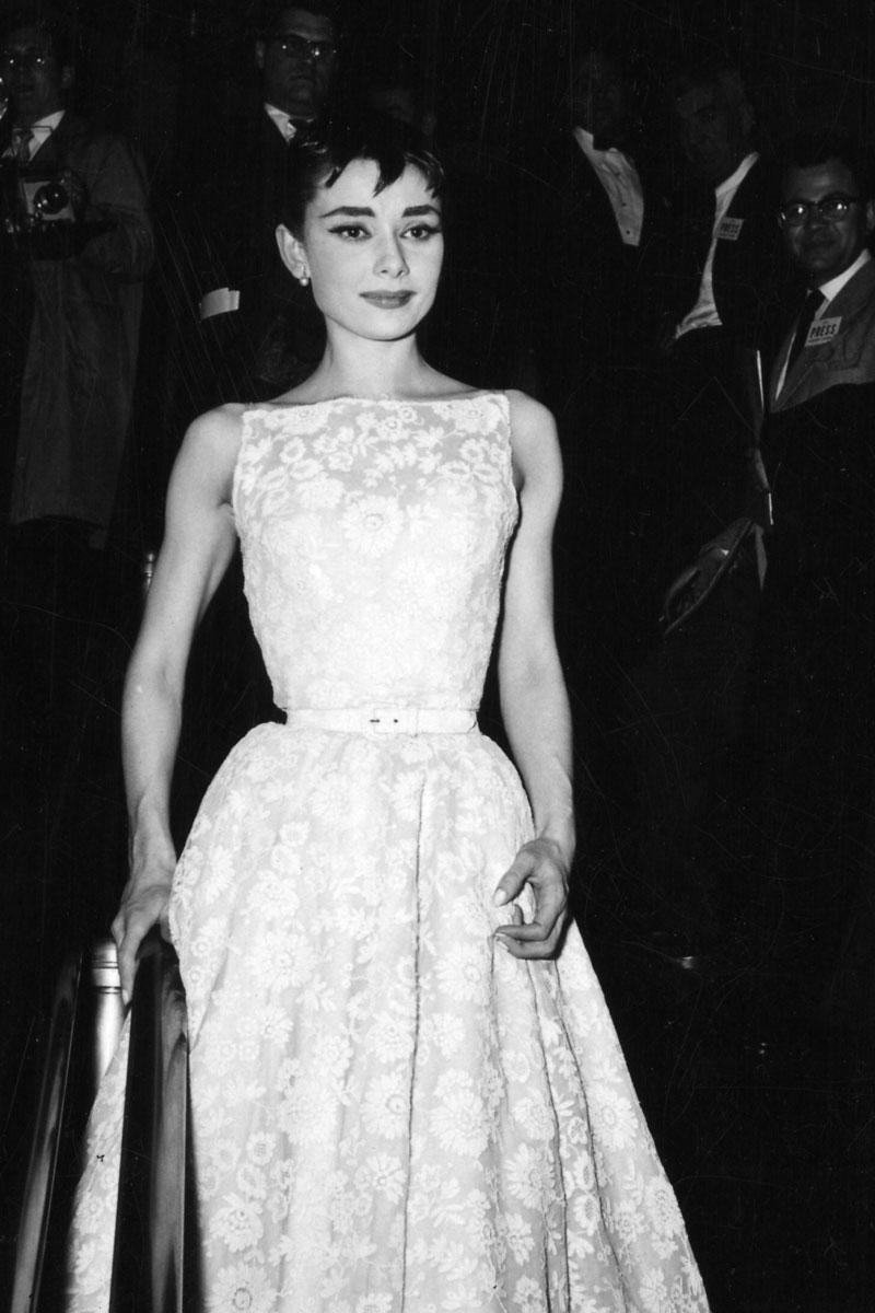 Audrey Hepburn, in 1954