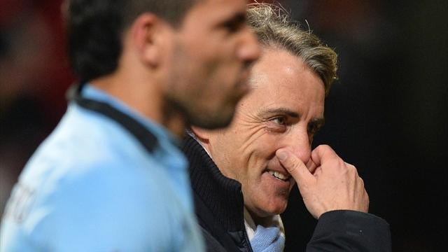 Premier League - Mancini: Title bid still over