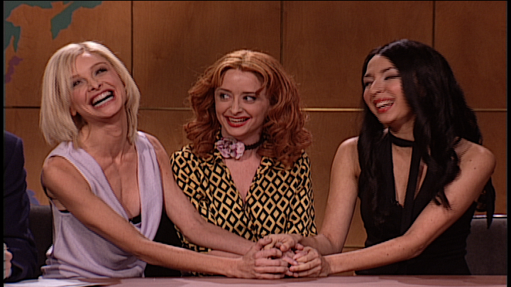 Weekend Update: Cameron Diaz, Drew Barrymore, and Lucy Liu