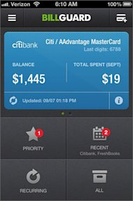 The Five Must Have Mobile Apps to Survive Holiday Shopping and Traveling image 334240 billguard for iphone a quick look