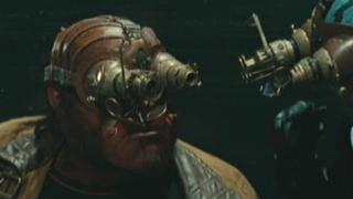 Hellboy 2: The Golden Army (Team Confronts The Bag Lady)