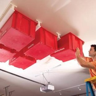 Sliding Roof Storage