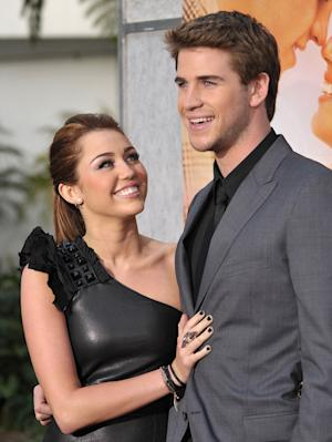 The Last Song LA Premiere 2010 Miley Cyrus Liam Hemsworth