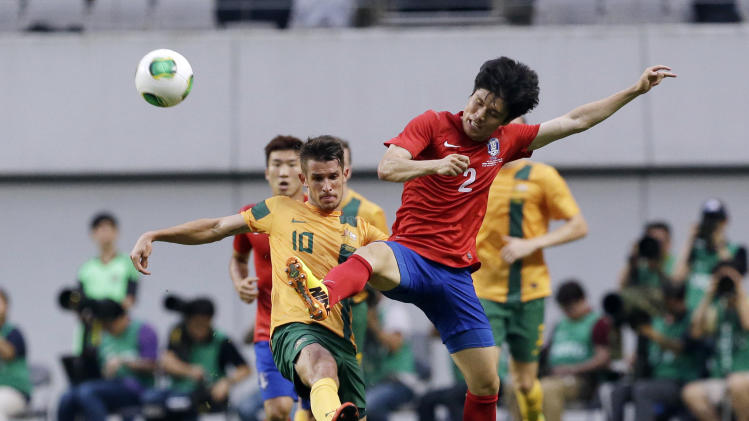 South Korea Australia Soccer East Asian Cup