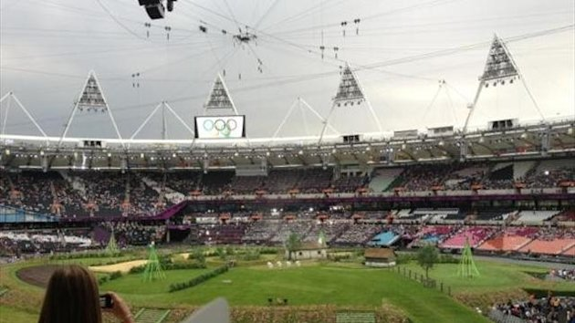 London 2012, opening ceremony