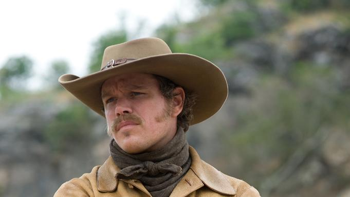 Matt Damon True Grit Production Stills Paramount 2010