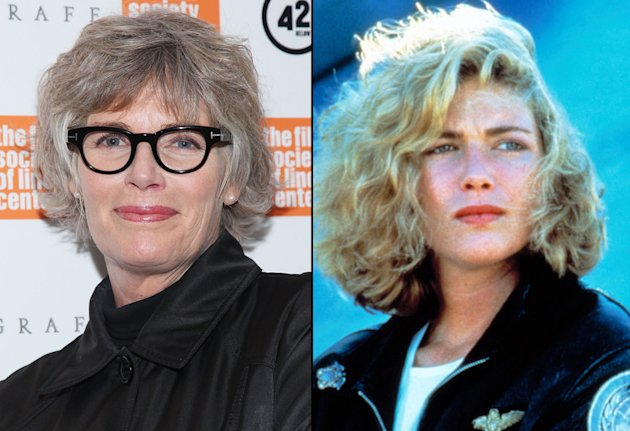 Kelly McGillis then and now
