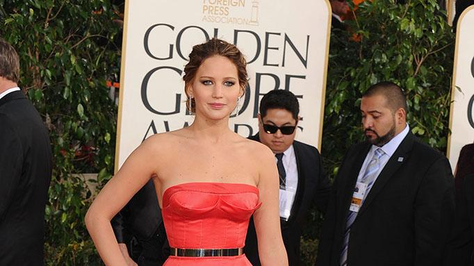70th Annual Golden Globe Awards - Arrivals: Jennifer Lawrence