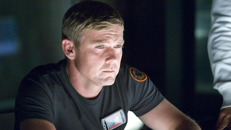 "Ricky Schroder as Major Keene M.D. in A&E's original mini-series ""The Andromeda Strain."""