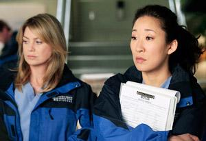 Ellen Pompeo and Sandra Oh | Photo Credits: Richard Cartwright/ABC