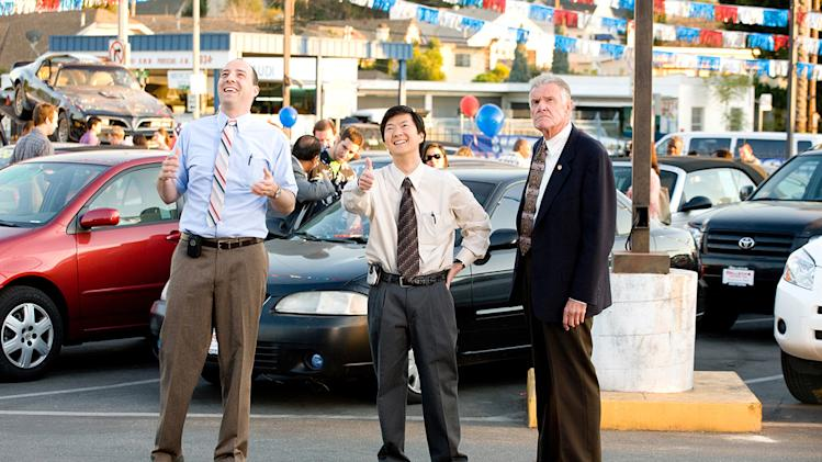 The Goods Live Hard Sell Hard Production Photos Paramount Pictures 2009 Ken Jeong Tony Hale Charles Napier