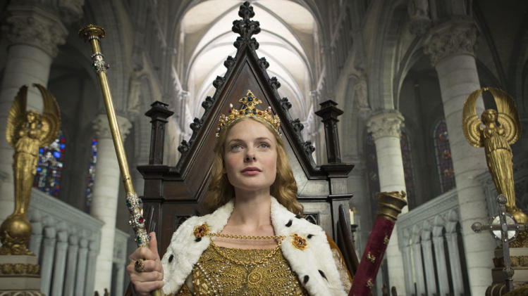 """The White Queen"" premieres Saturday, 8/10 at 9 PM on Starz"