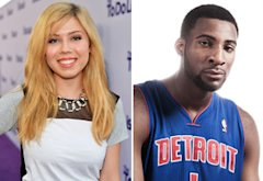 Jennette McCurdy, Andre Drummond | Photo Credits: Alberto E. Rodriguez/Getty Images, Nick Laham/Getty Images