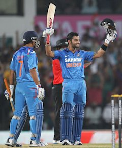 Virat Kohli: Hundred number 17
