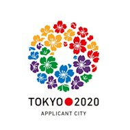 This handout image released by the Tokyo 2020 bid committee shows their logo for the 2020 Olympics. Tokyo, who are the only one of the trio to have previously hosted the Games (1964), also are looking to tug at the IOC heartstrings and persuade them the perfect panacea for the 2011 tsunami that devastated the country would be the Games