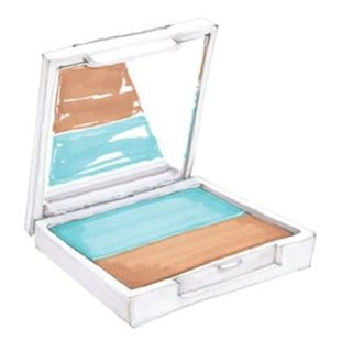 VMV Hypoallergenics Two True Hues Eyeshadow Duo in Life's a Beach, $40, vmvhypoallergenics.com