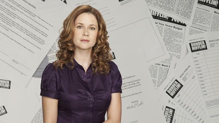 "Jenna Fischer as Pam Beesly in ""The Office."""