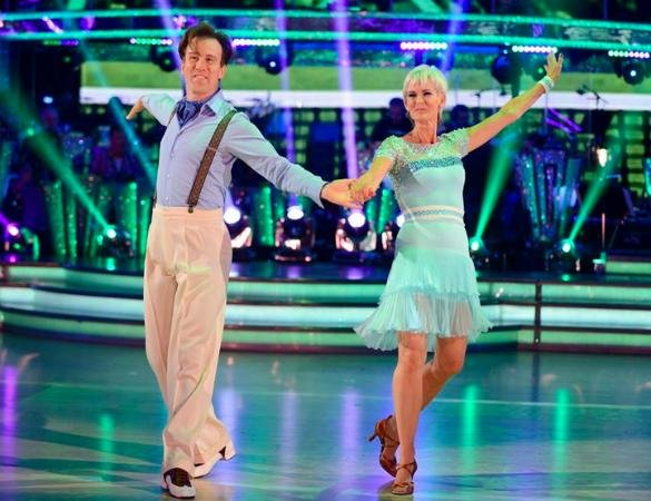 Strictly 2014: Judy Murray Gets Coaching Tips From Her Son: 'He Tells Me What To Eat And Drink'