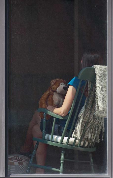 "Arne Svenson, The Neighbors #17, 2012, pigment print, 47.5"" x 30"", ed. 5"