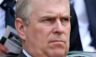 Duke Of York Challenged In Palace Grounds