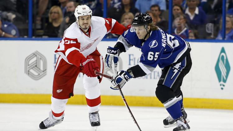 Detroit Red Wings v Tampa Bay Lightning