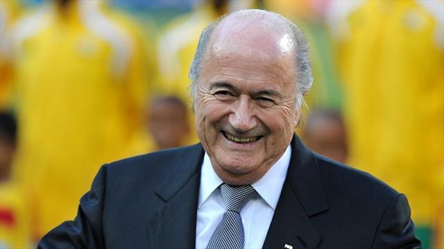 Football - Blatter powerless to stop transfer fees soaring
